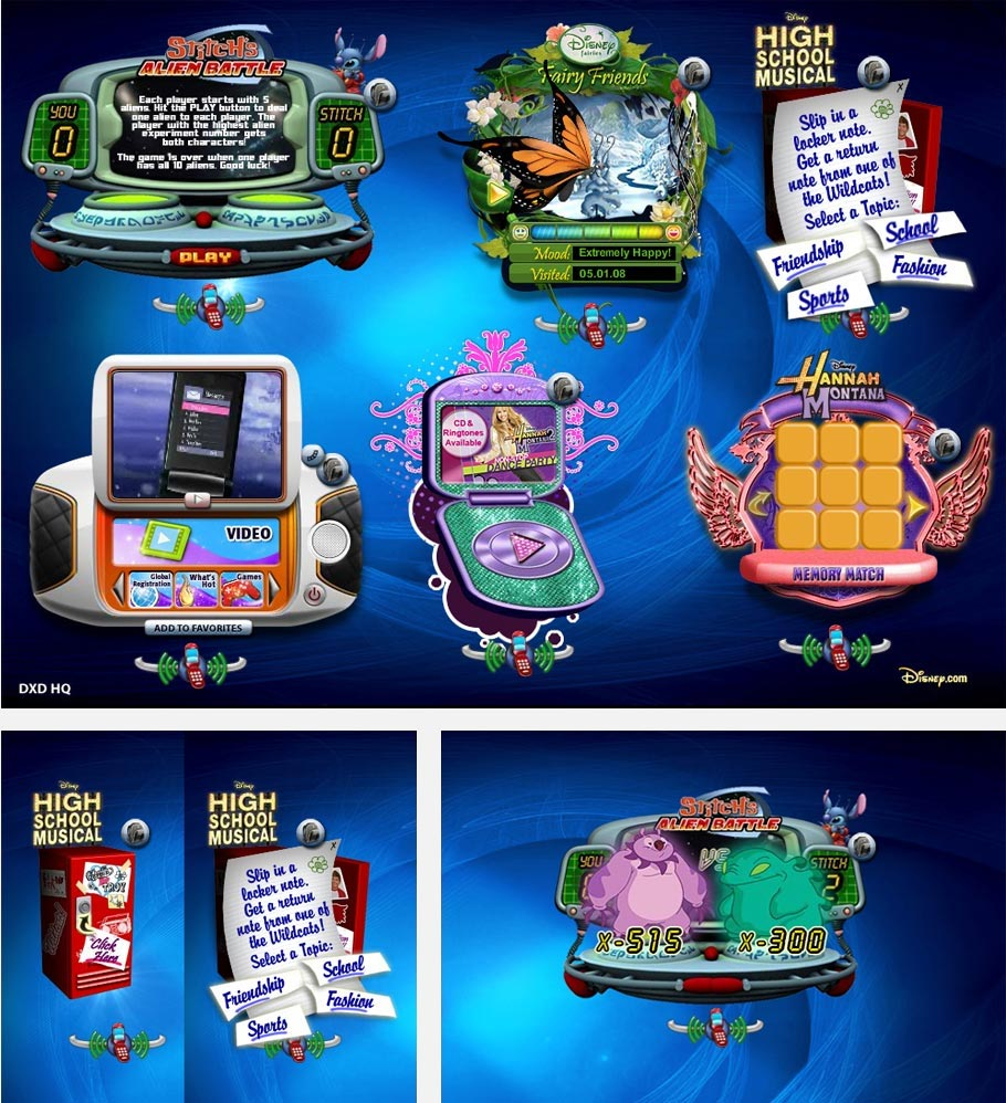 Disney Mobile Games